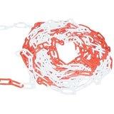 Kunststoffkette 6 mm Rot/Weiß._50