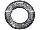 Rückleuchte LED-Ring 98mm Rückleuchte - Bremsleuchte Klarglas_6