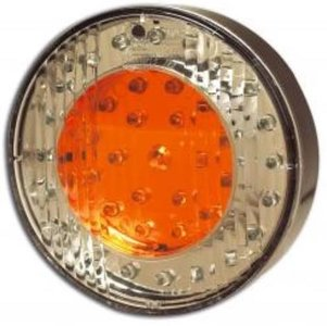ø 100 mm Rückleuchte LED rund
