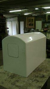 DogTrailer / TM251 Polyester Behälter und Bodenplatte