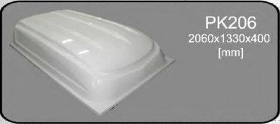 Deckel Anhänger polyester 2060x1330x400mm.