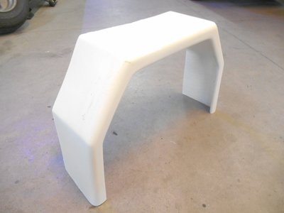 Kotflügel Polyester GFK, TM600