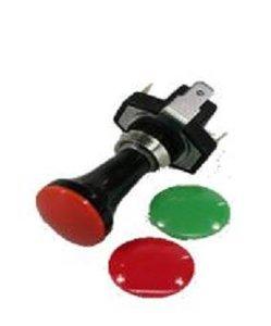 Schalter Univarsale 12Volt mit Farbkappen.