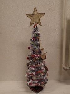 Weihnachtsbaum, metall.