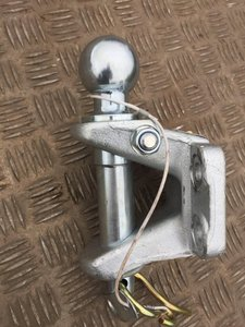 Kugel, Kupplung mit  Lastösenbolzen, 50mm Kugel