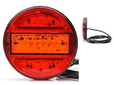 Rücklichte 5 Funktionen, 150x80 LED, Li + Re Tralert