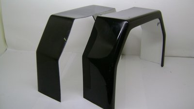 Kotflügel Polyester GFK, TM600 Black